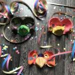 Knutsel een Carnavals masker en confetti schieter