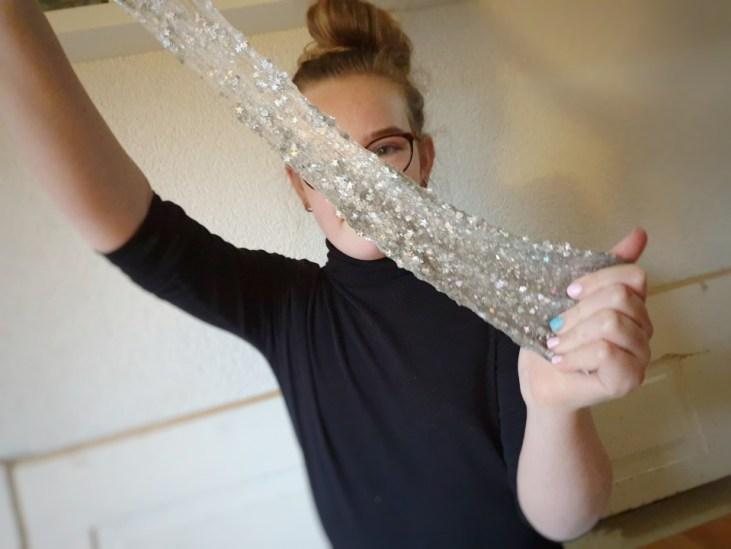 Goed slijm: Orb Slimy glitterslijm slijm met glitter