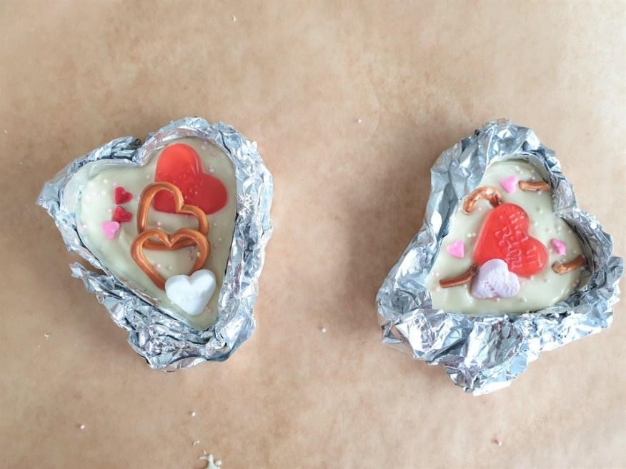 zelf valentijn chocolade harten maken