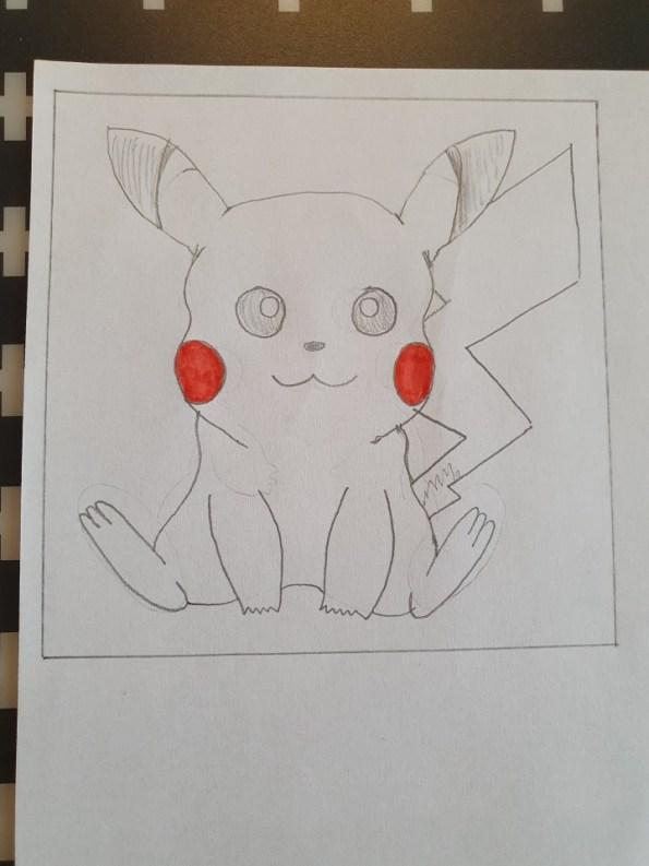 pikachu tekenen