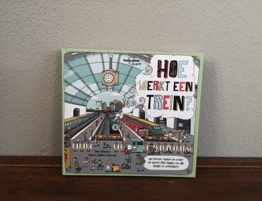 { Boek Recensie } | Hoe werkt een trein van Lonely Planet Junior