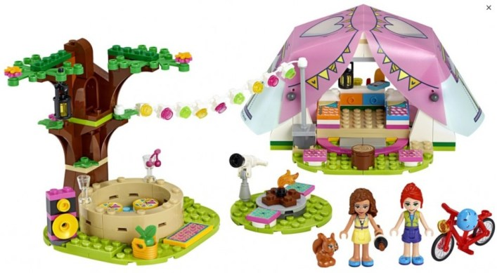 glamping lego friends