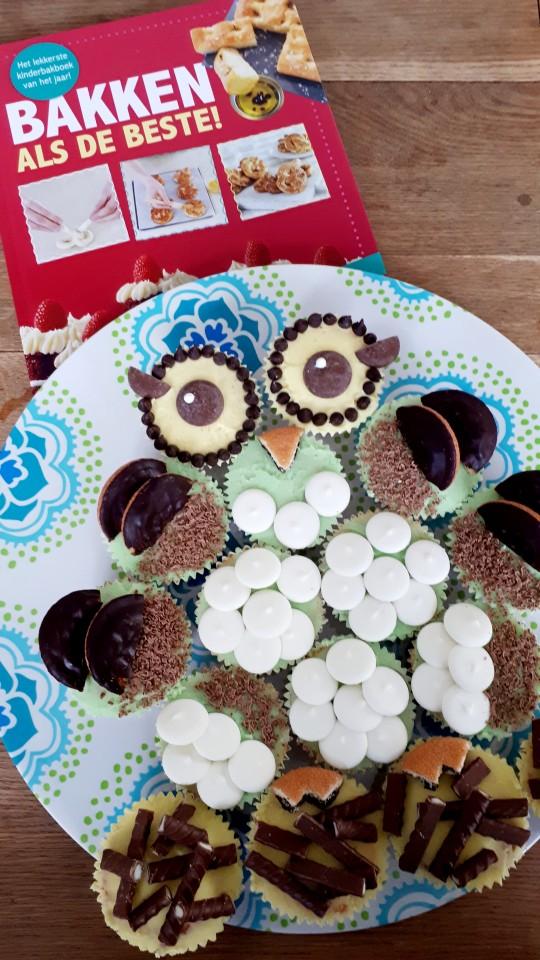 uil van cupcakes maken