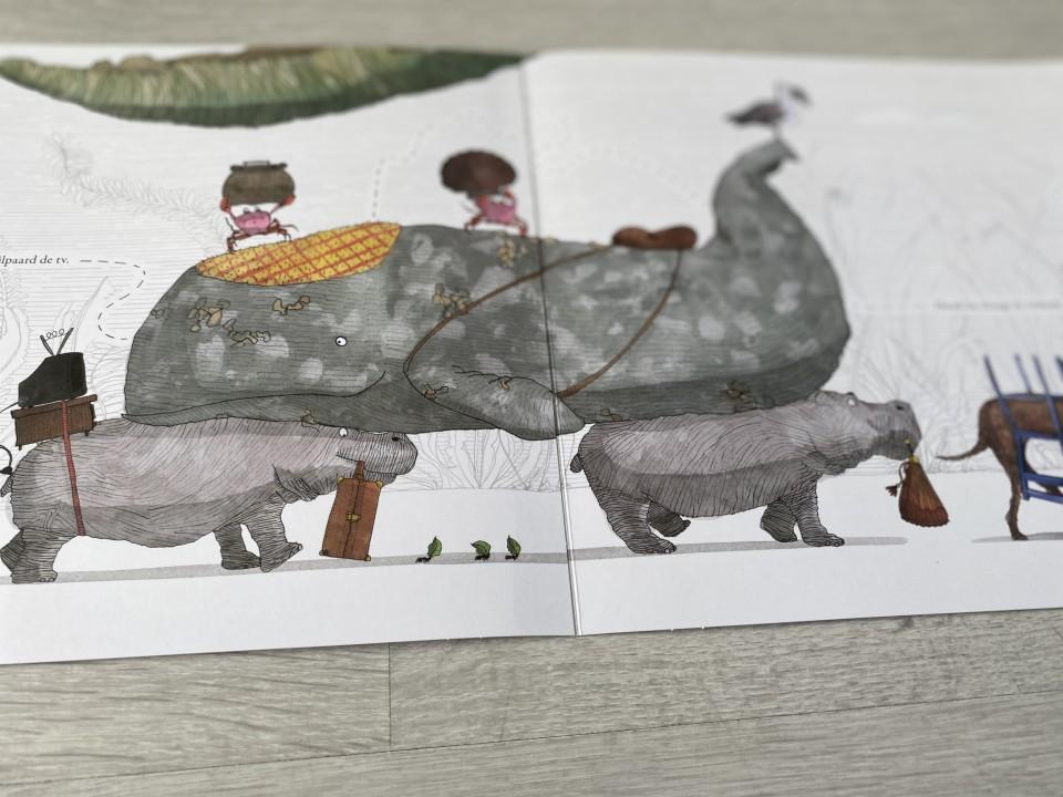 dieren boek met verhuizen boek kinderen