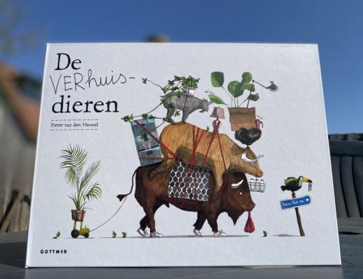 { Boek recensie } De Verhuisdieren van Uitgeverij Gottmer