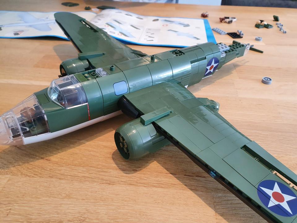 vliegtuig lego pakket