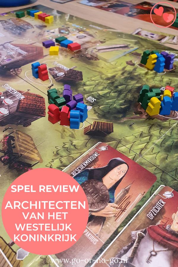 Architecten van het Westelijk Koninkrijk is een tactisch gezelschapsspel van White Goblin. Lees onze review van Architecten van het Westelijk Koninkrijk.