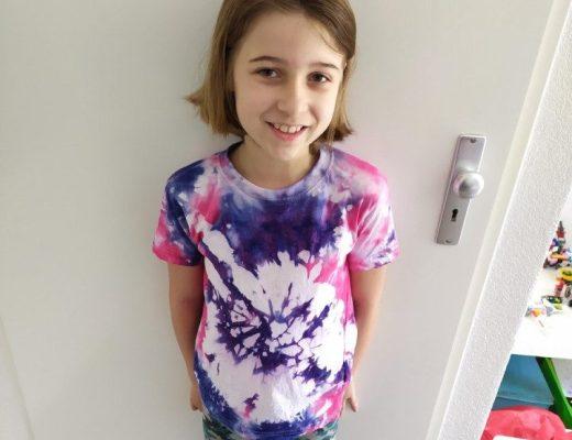 Snel en makkelijk hippe shirts maken met Tie Dye