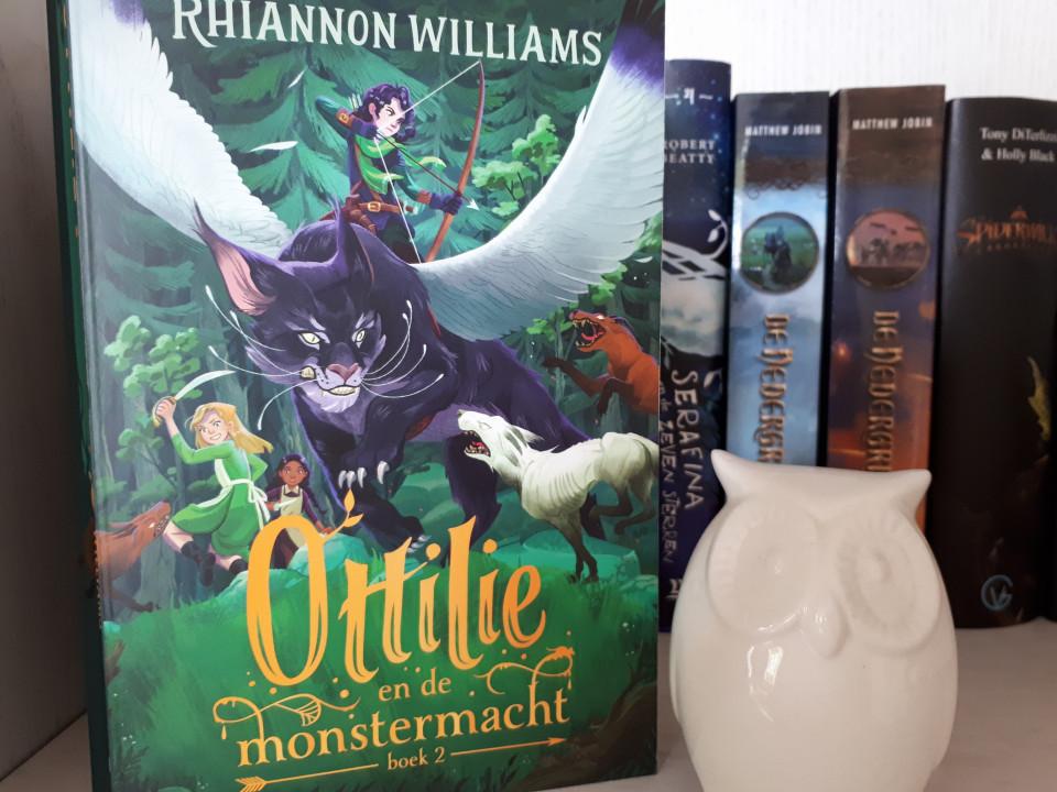 { Boekrecensie } | Ottilie en de monstermacht – spannend en magisch avontuur