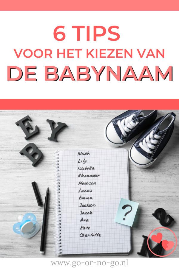 Waar let je op bij het uitkiezen van een babynaam? Lees nu deze fijne 6 tips die je gaan helpen bij het uitzoeken van een naam voor de baby.