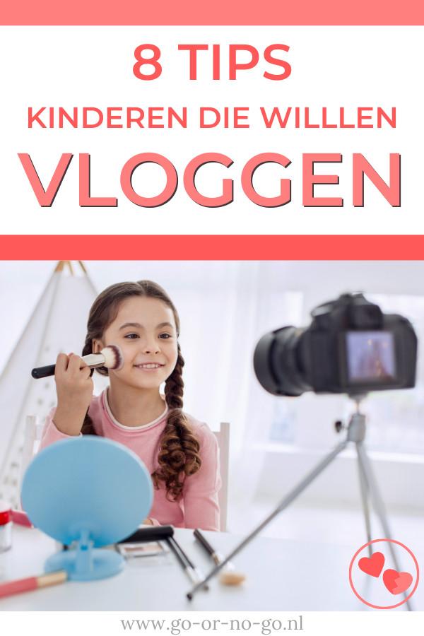 Wil jouw kind vloggen en zoek je tips hoe hiermee om te gaan? Lees op Go or No Go 8 fijne tips voor ouders van kinderen die willen vloggen.  #vloggen - Go or No Go