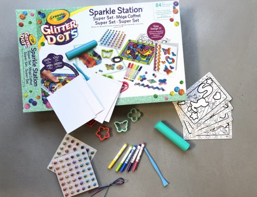 { Review } | Glitter Dots Sparkle Station Deluxe - Crayola