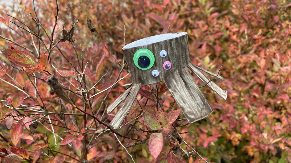Halloween knutsels: monster spinnen knutselen