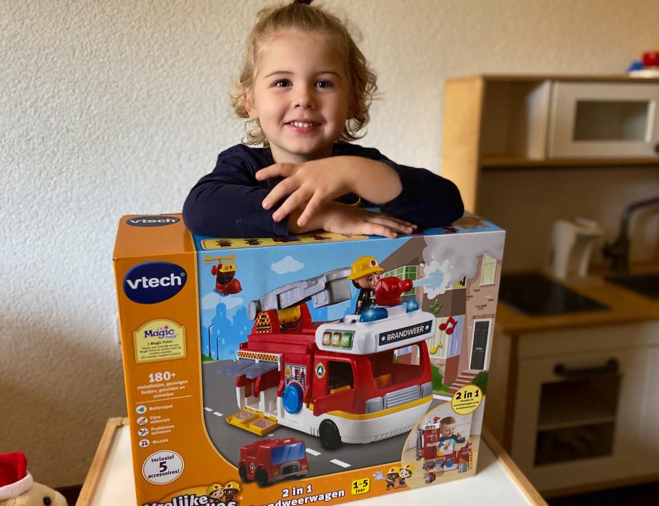 { review }   VTech Vrolijke vriendjes 2 in 1 Brandweerwagen