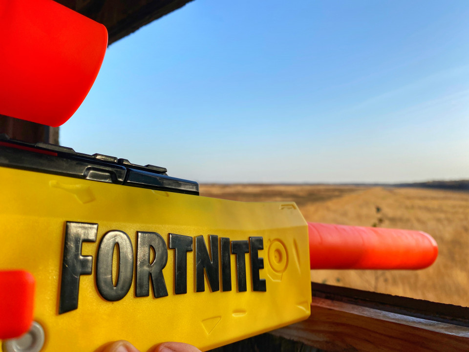 { Review } | Nerf Fortnite Blaster van Hasbro