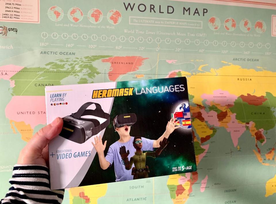 vr talen bril review { Review } | Heromask - Leer talen met een VR bril