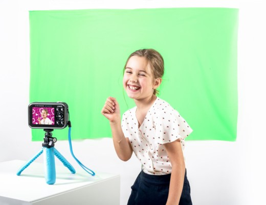 vlogcamera van VTech KidiZoom Vloggercam