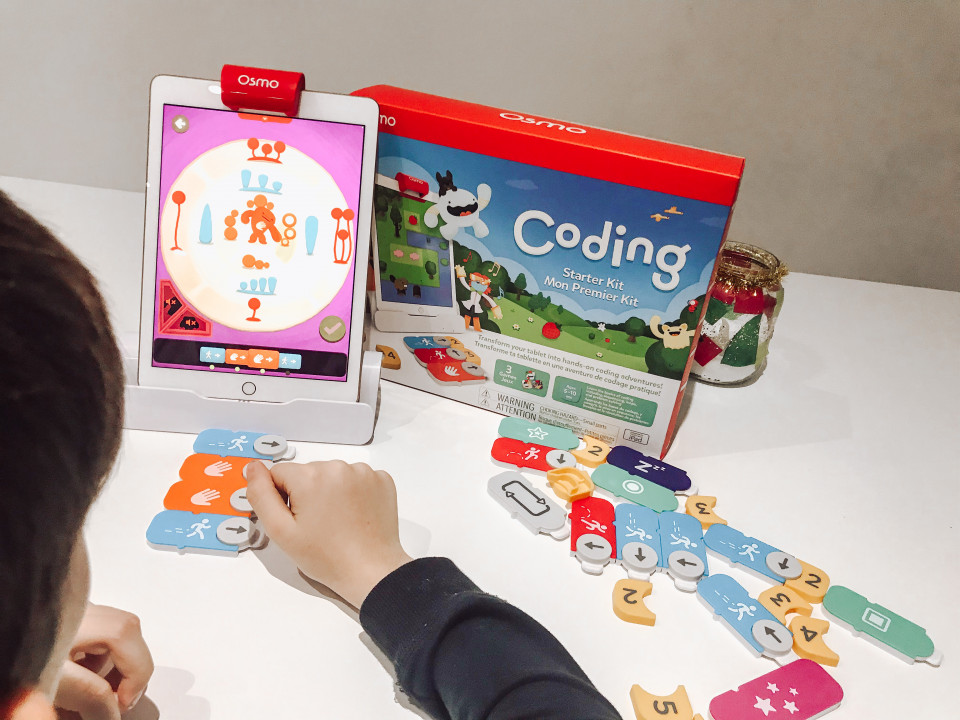 { REVIEW } | OSMO CODING STARTER KIT VOOR DE IPAD