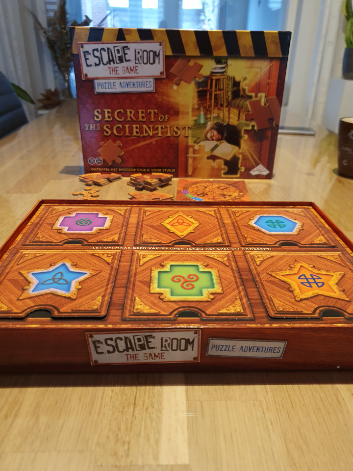 { REVIEW } - ESCAPE ROOM THE GAME - PUZZLE ADVENTURES: SECRET OF THE SCIENTIST