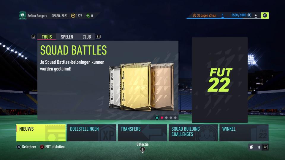 FUT packing
