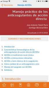 Anticoagulantes Medicina Consultiva