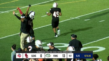 Dane Key with a ONE HANDED Touchdown grab! #SCTop10