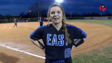 East Jessamine Fastpitch 2019 post game interviews 3-28-19