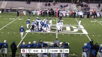 KHSAA State Football Playoffs – East Jessamine vs Collins