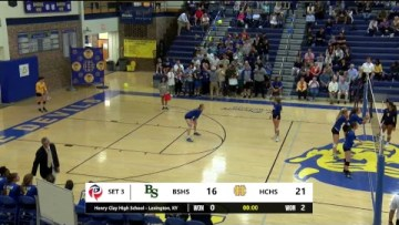 KHSAA Volleyball – Bryan Station at Henry Clay