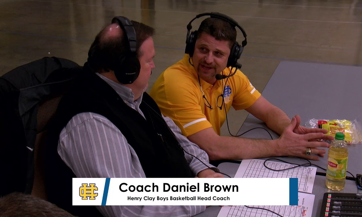 Henry Clay Boys Head Coach Daniel Brown