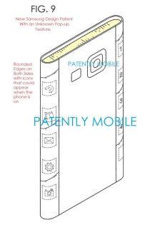 Samsung Patent Dual-Edge-Display