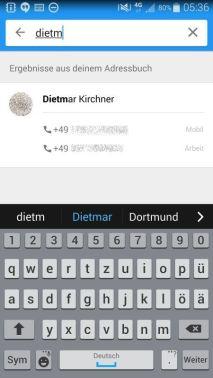 Clever Dialer Test