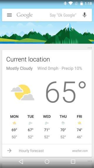 Google Now App