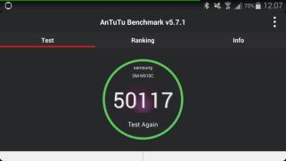 Android für Anfänger: Benchmark