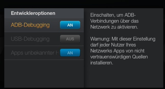 Amazon Fire TV Sideload