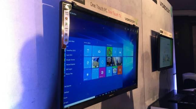 Windows TV von Videocon mit Windows 10