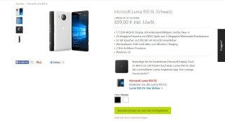 ...das Microsoft Lumia 950 XL hingegen nicht