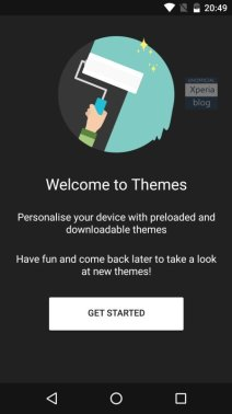 Sony Concept for Android Marshmallow