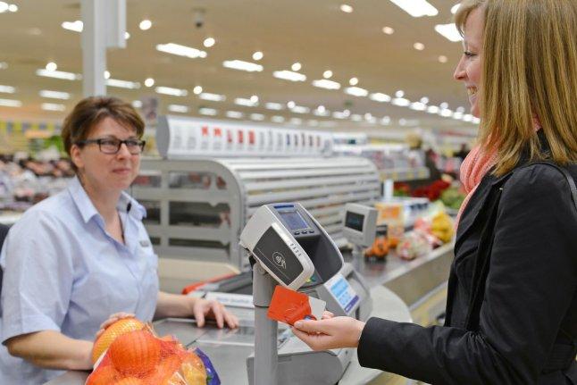 Bezahlen per NFC-Smartphone