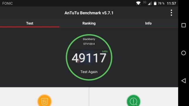 BlackBerry PRIV Test