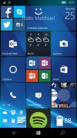 Windows Hello für Windows 10 Mobile