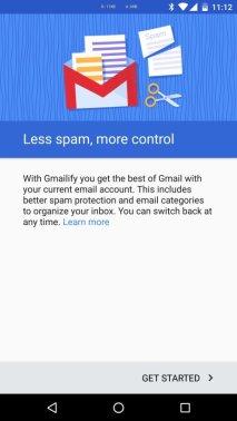 Gmailify für Gmail