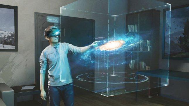Galaxy Explorer für die Microsoft HoloLens