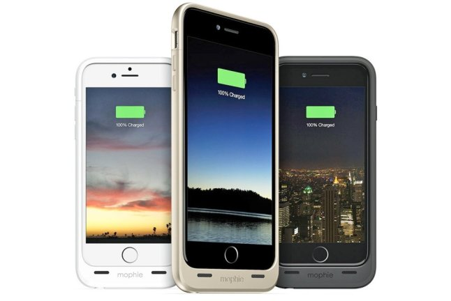 Mophie Battery Case für iPhone 6 und iPhone 6 Plus