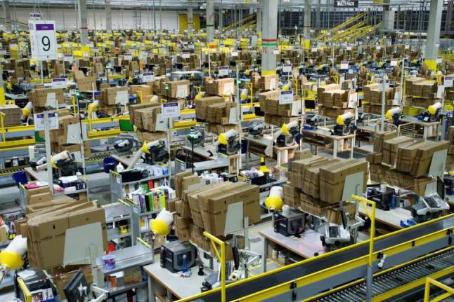 Amazon Versandlager Berlin