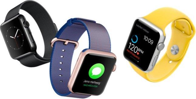 Neue Nylon Armbänder der Apple Watch