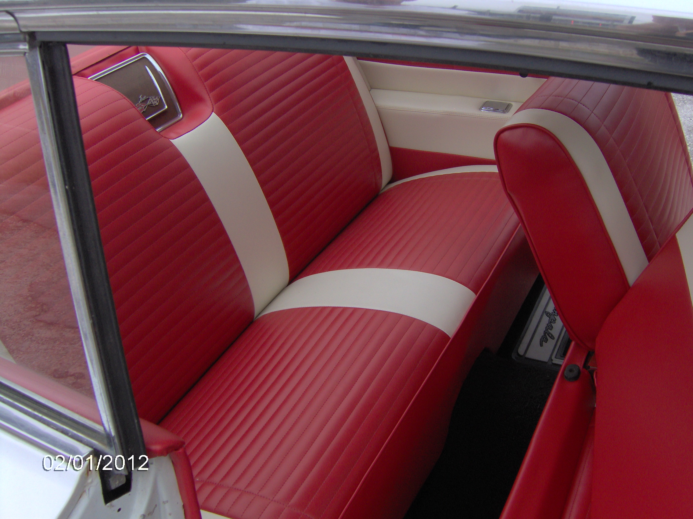 Classic Striped Impala Kellys Quality Auto Upholstery