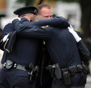police-upset