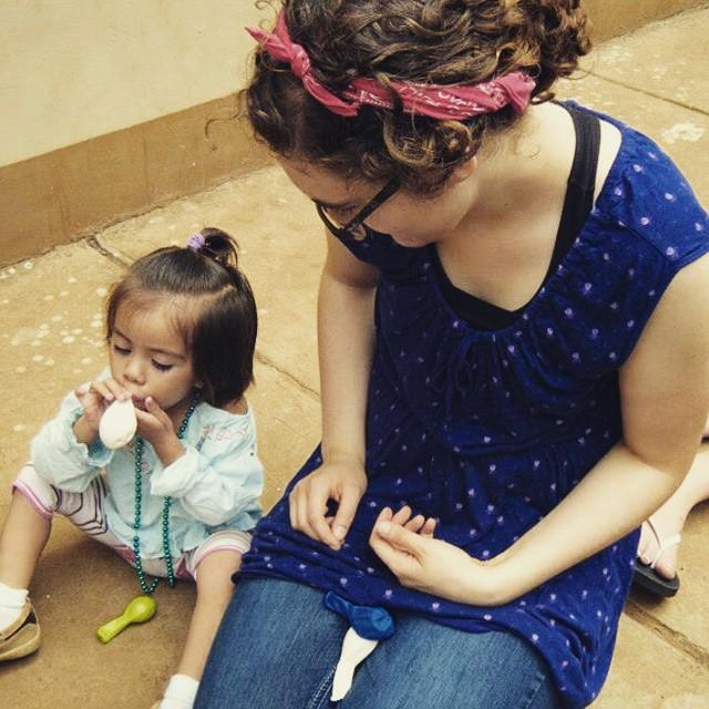 Stella Childress in Nicaragua