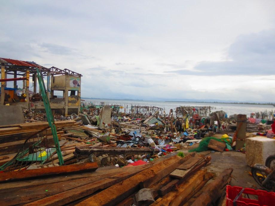 Devastation in Tacloban City
